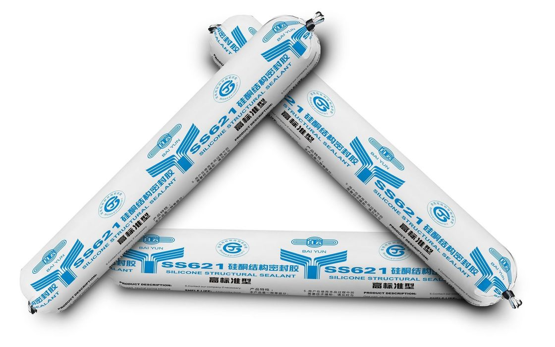 BAI YUN® SS621 Strength Structural Silicone Sealant  Excellent weatherability and high resistance to ultraviolet radiati